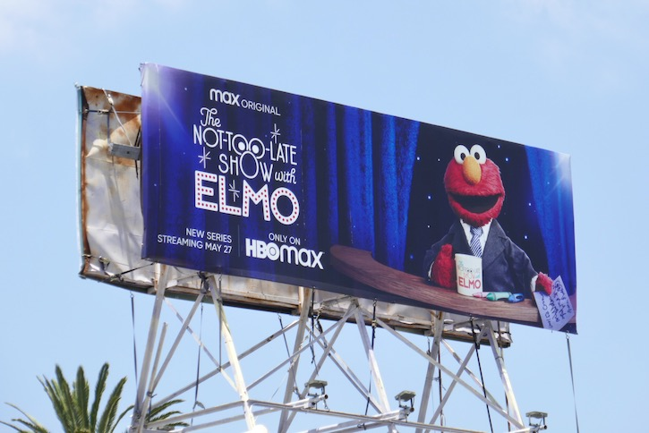 Not-Too-Late Show Elmo billboard