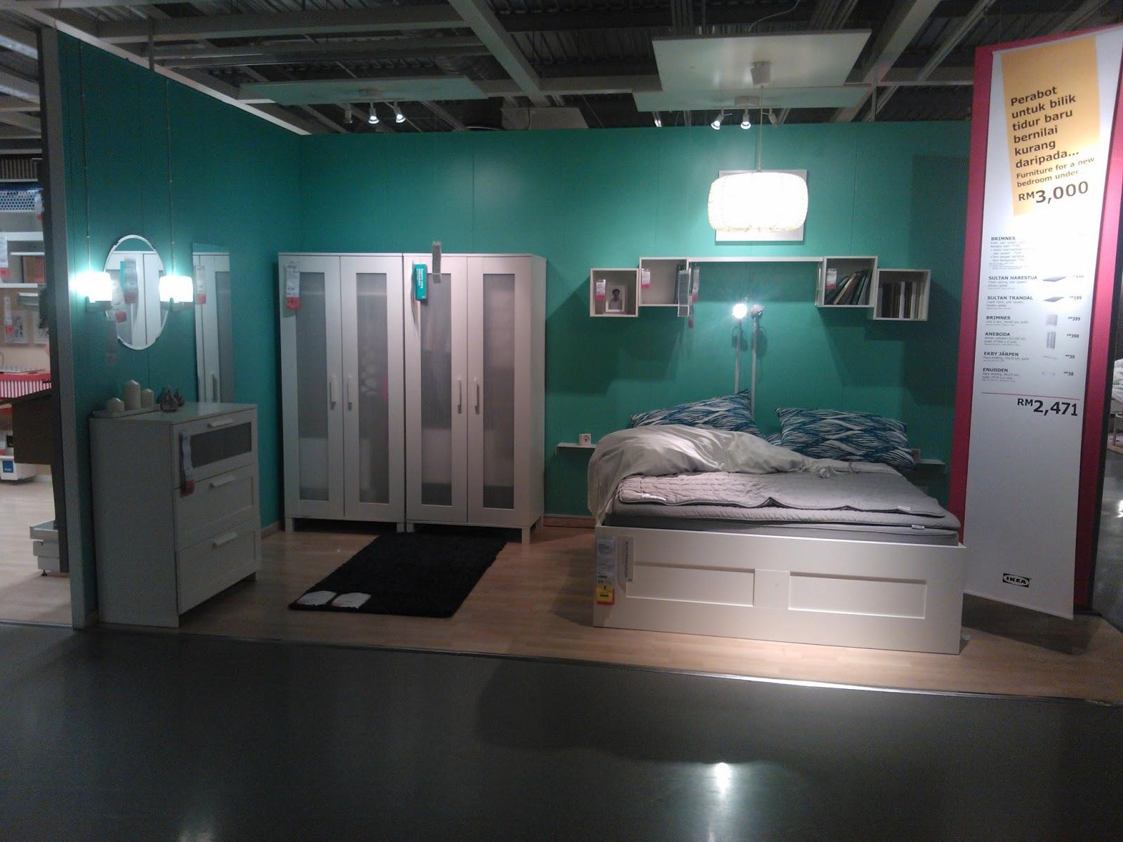 Ikea Bilik Tidur Semuanya Barang