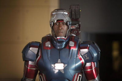 Don Cheadle as Colonel James Rhodes Iron Patriot in Iron Man 3