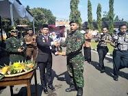 HUT TNI Anggota Kodim Datangi Mapolres
