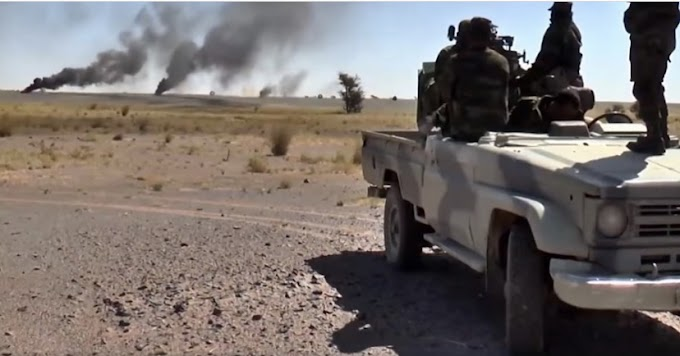 🔴 البلاغ العسكري رقم 10 : الجيش الصحراوي يواصل قصف مختلف قواعد قوات الإحتلال المغربي
