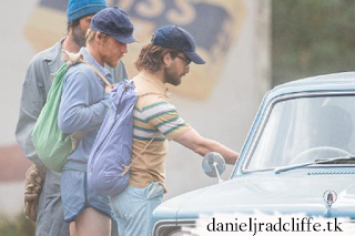 Updated: First photos of Daniel Radcliffe on the set of Escape from Pretoria