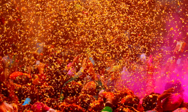 Phool wali holi- Mathura and Vrindavan Holi