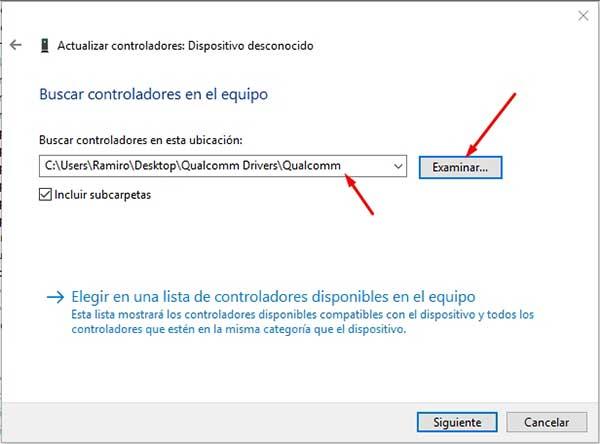 Descargar controladores para Qualcomm HS USB QDLoader