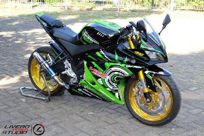 39 Foto Gambar Modifikasi Motor Yamaha Vixion Ks Terbaik