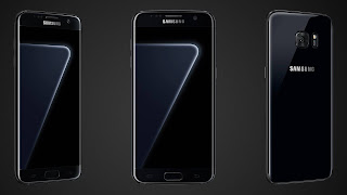 Samsung Galaxy S7 Edge Siyah İnci