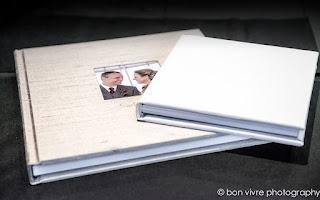 wedding albums by Bon Vivre Photography