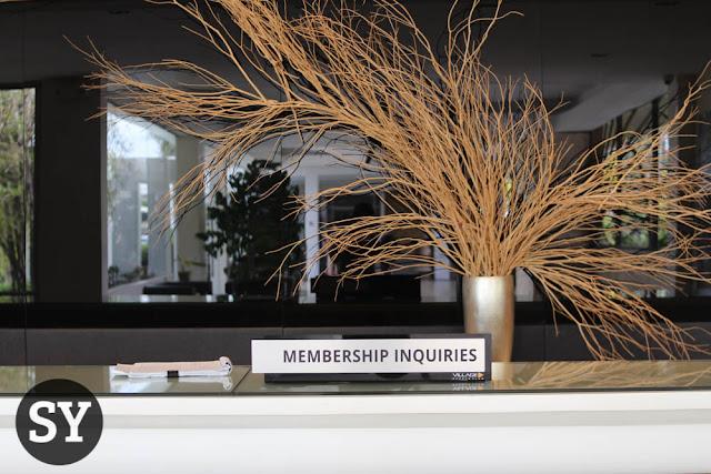 Membership Inquiries Desk in The Village Sports Club