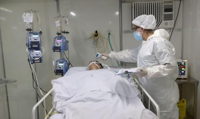 No RN, 420 pessoas estão internadas em leitos clínicos e críticos