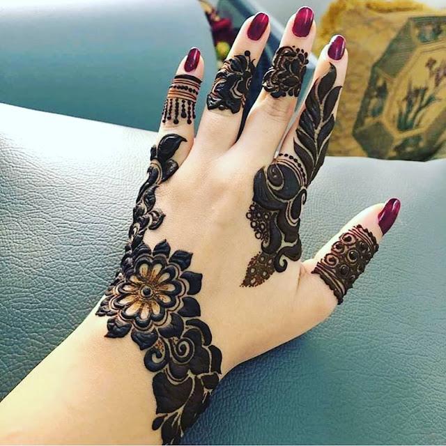 simple arabic henna mehndi designs download