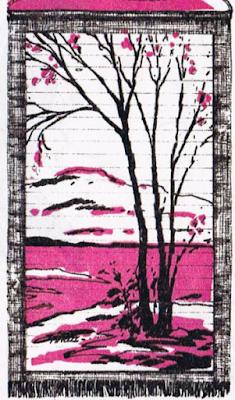 картина из открыток