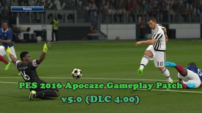 PES 2016 New Gameplay Patch v5.0 (DLC 4.00)
