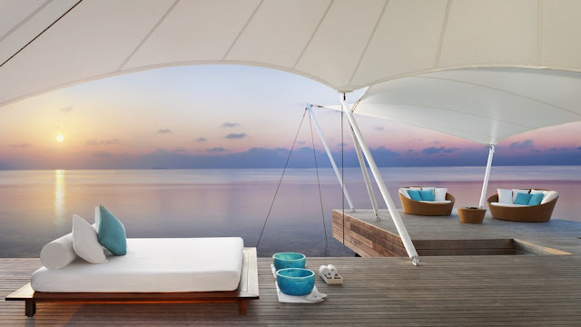W Maldives, AWAY® SPA, Deck