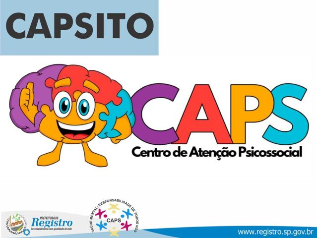 CAPSITO é o novo mascote do CAPS Registro-SP