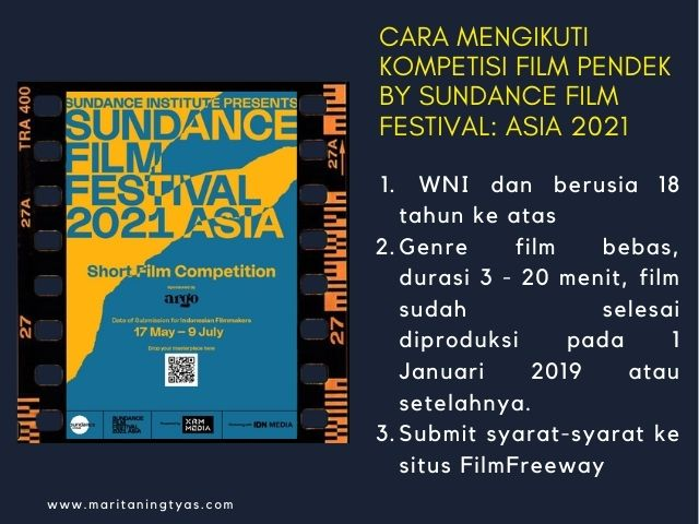 syarat sundance film festival asia 2021