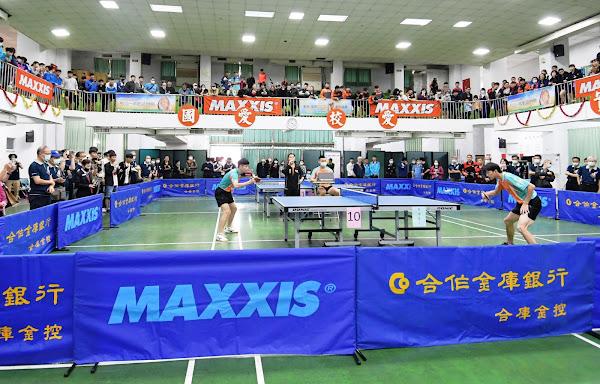 合庫金控正新瑪吉斯盃全國桌球賽在員林市開打