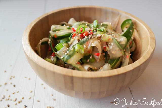 Gurkensalat asiatisch