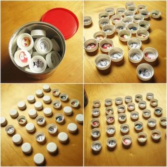 Coleccion De Juegos Juegos Con Tapas O Chapas De Botellas Recicladas