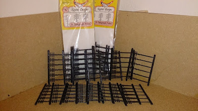 N Gauge Telegraph Poles from eBay