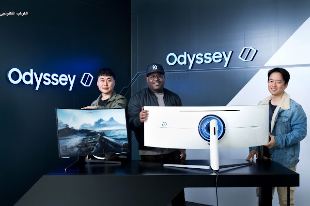 Odyssey G7 and G9