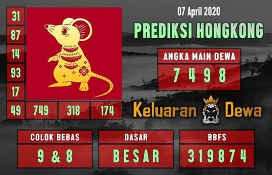 Prediksi HK Malam Ini Rabu 08 April 2020 - Keluaran Dewa HK