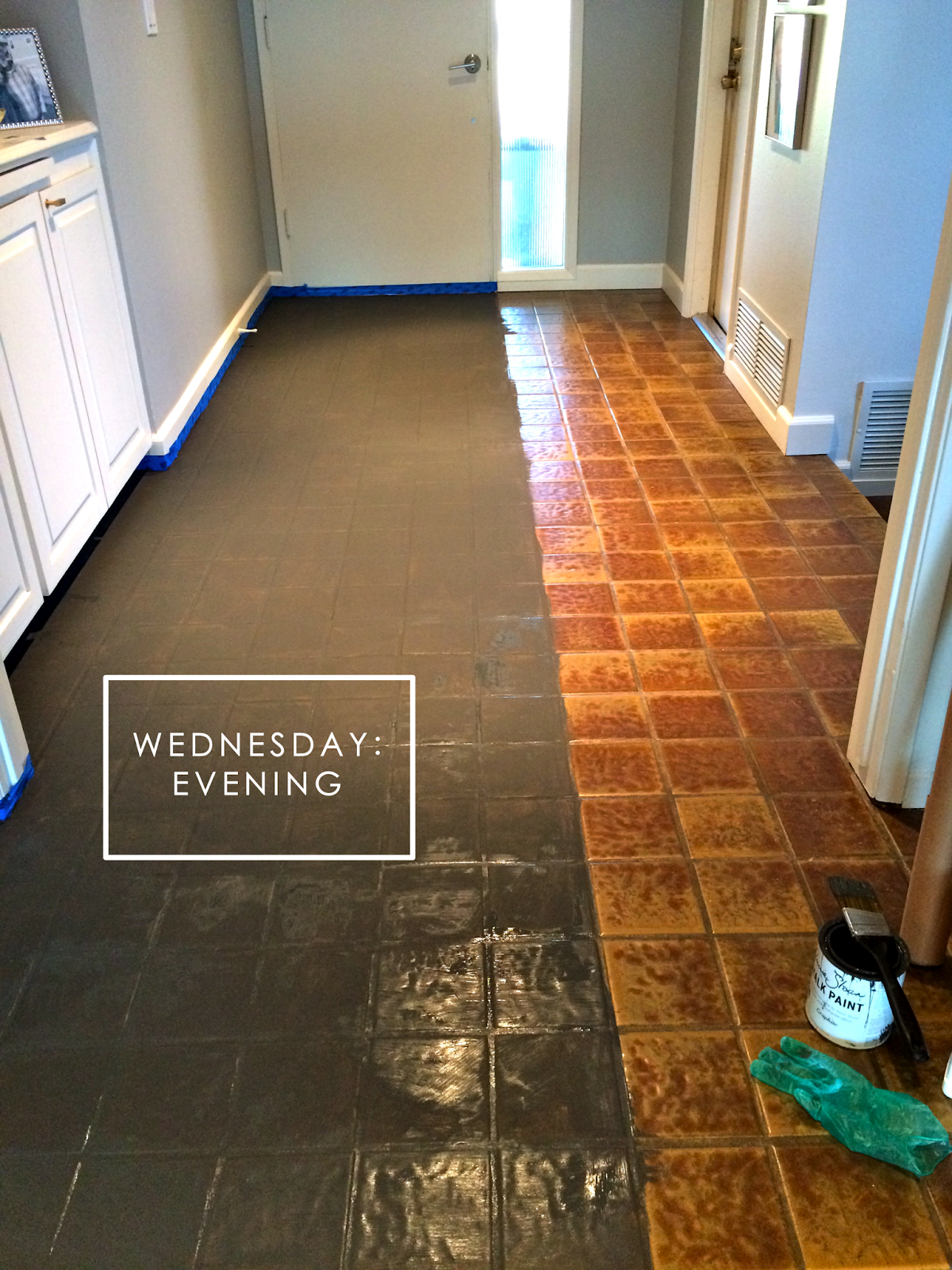 Project Fail Painted Tile Floors Holtwood Hipster
