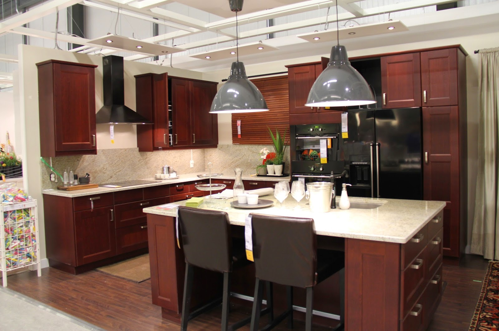 Ikea Ideas For Small Kitchens Black Glass Kitchen Cabinet Doors Modern Design