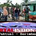 Jelang Buka Puasa Koramil 07/Reteh Berbagi Takjil Ke Masyarakat Pulau Kijang