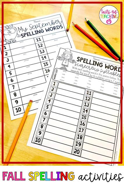 fall-spelling-activities