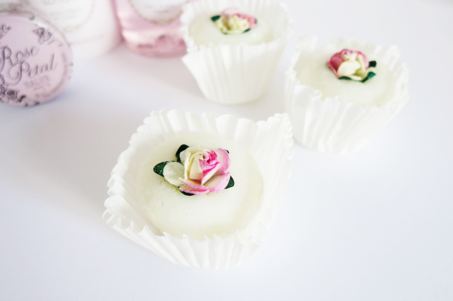 handmade bath melts