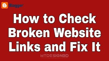 How to Check Broken Links and Fix it