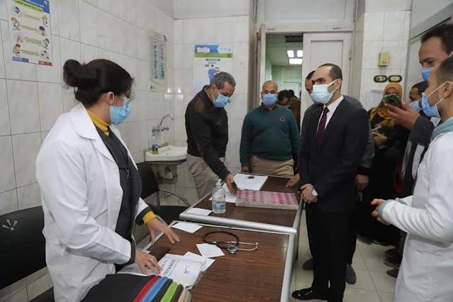 نائب محافظ سوهاج يتفقد مستشفى أخميم المركزي