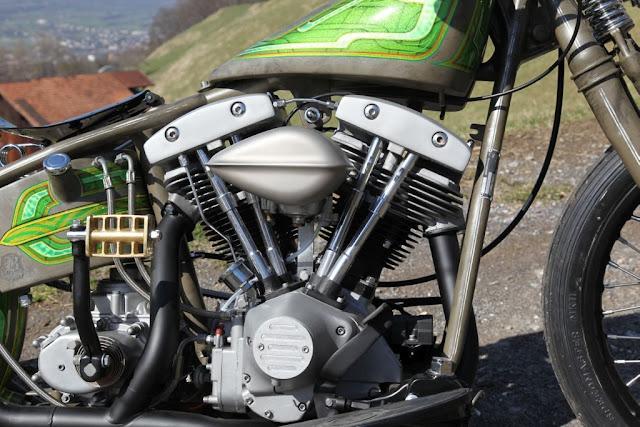 Harley Davidson Shovelhead By Bobber FL Motorcycles Hell Kustom