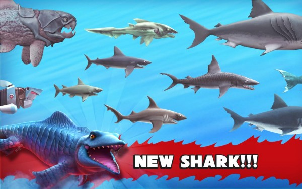 نتيجة بحث الصور عن تحميل لعبة القرش المفترس Shark Evolution مهكرة 2019