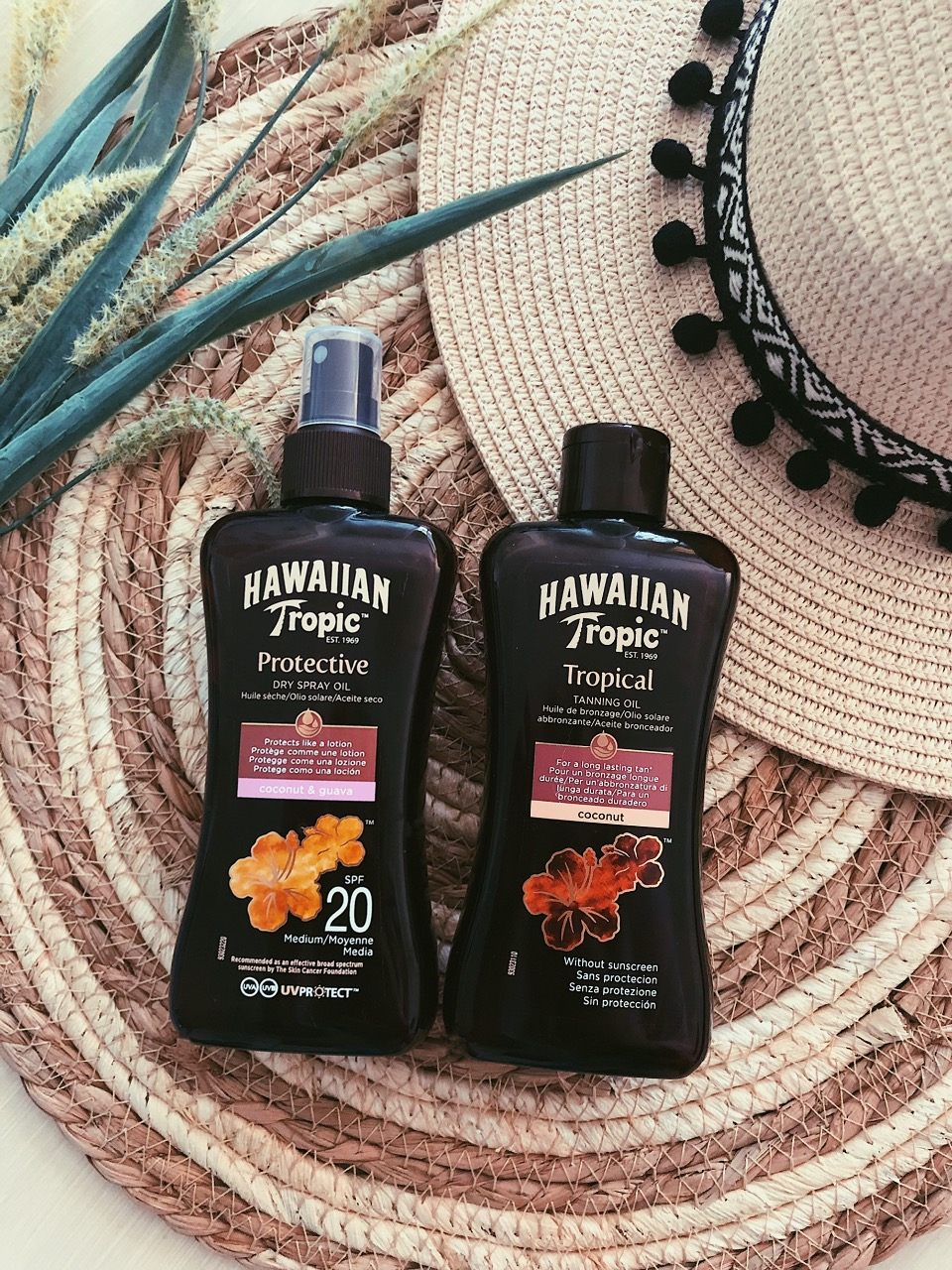 Hawaiian Tropic zonolie tanning oil