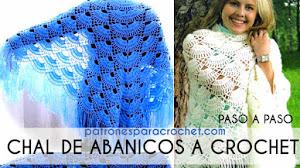 Patrones de Chal Triangular a Crochet Paso a Paso