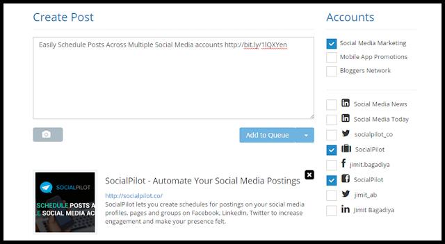 SocialPilot: An easy way to take social media advantages