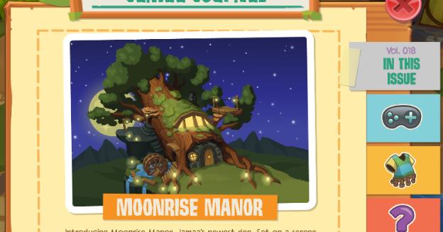 Animal Jam Spirit Blog Moonrise Manor Den and Epic Wonders on Play Wild