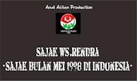 Puisi Sajak Bulan Mei 1998 di Indonesia - WS RENDRA