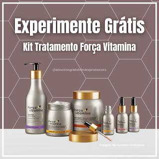 Experimente Grátis Brinde Grátis Força Vitamina