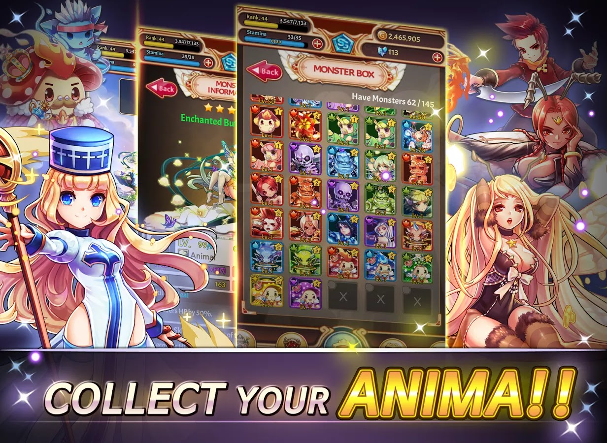 Anima Adventure: Dice Battle Now Available in Google Play! (Free In-Game Crystals)