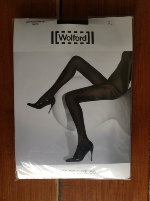 f29ac6e140a ... Velvet De Luxe 66 Tights at the Wolford shop in the Westfield Stratford  City shopping centre in London. The salesperson specifically recommended  this ...