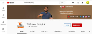 No.5 Youtube Channel of india