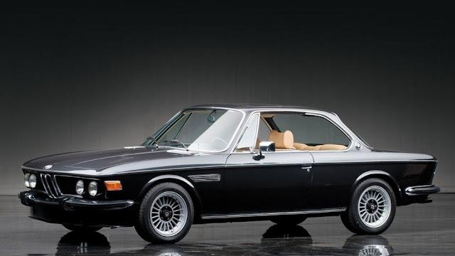 BMW 3.0 CSL 1970s German classic sports car