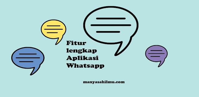 Trik lengkap panduan Menggunakan Aplikasi  WhatsApp Terbaru