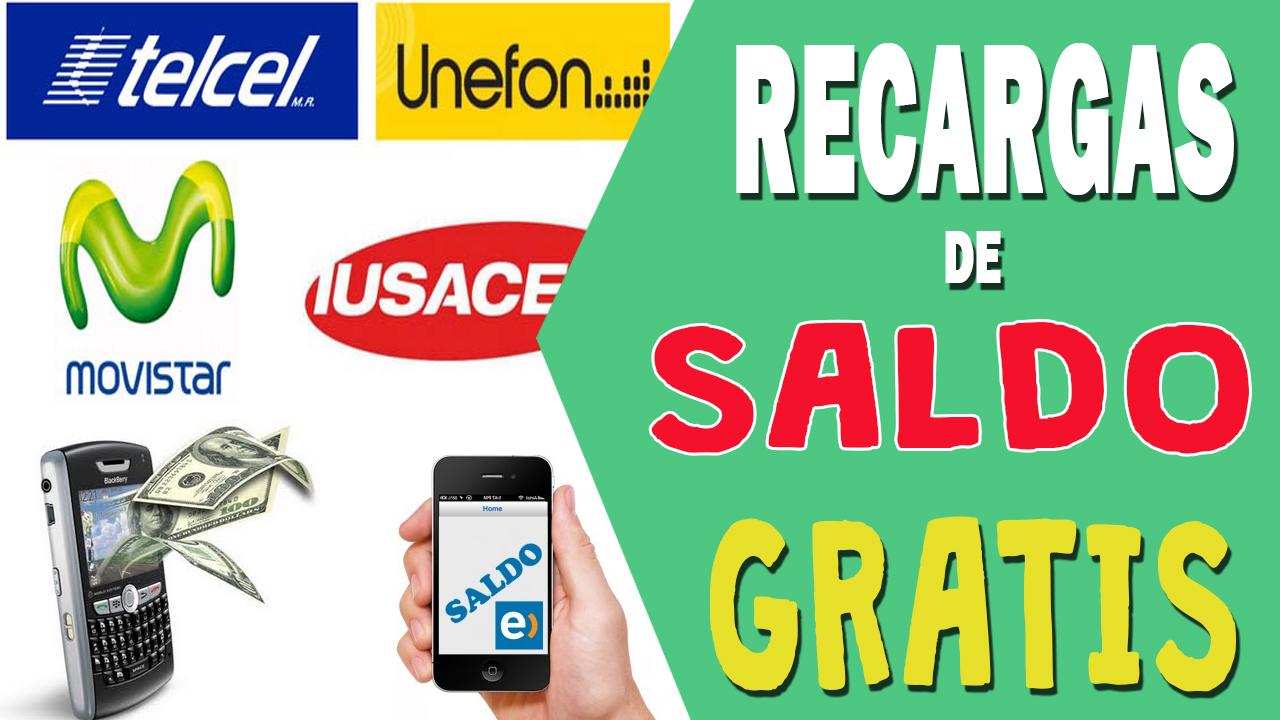 225d015f390 Cómo realizar recargas de saldo gratis? - Telcel, Movistar y más