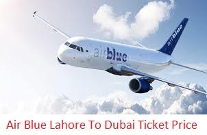 Air Blue Lahore To Dubai Ticket Price 2016 Flight Schedule