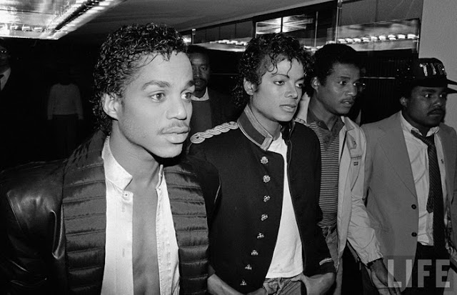 The Jackson's 5 Jheri Curl Michael Jackson