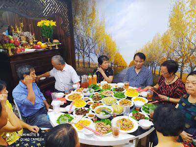 Nấu cỗ tại nhà Chung cư Booyoung, Mỗ Lao, Hà Đông