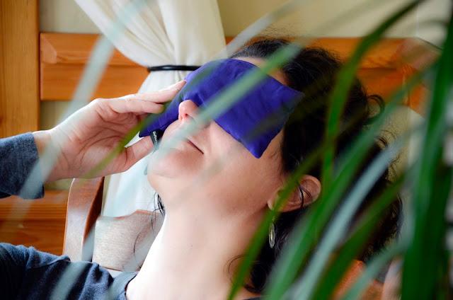Lavender Self-Care Kit with Lavender Eye Pillow